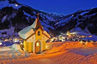 Avvento alpino nella Valle Grossarl