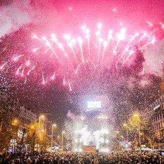 Nouvel An 2017 - Nieuwjaar 2017 - New Year's Eve 2017