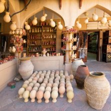 Heritage and crafts - Beautiful pottery market, Oman