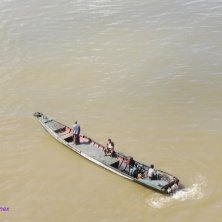 fiume visto dalla Mandalay Hill