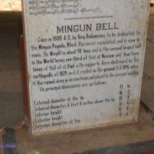 iscrizione campana Mingun