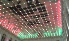 luci tricolori alla serata inaugurale