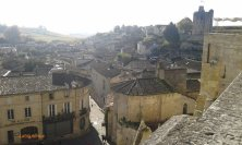 panorama su Saint Emilion
