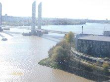 panorama sul fiume