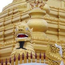 particolare alla pagoda Mandalay