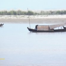 pescatori sul fiume