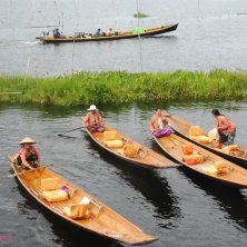 progetto Inle Canoa Lady