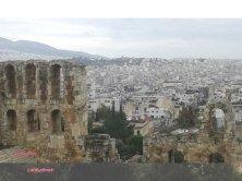 Atene vista dall'Acropoli