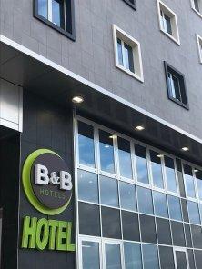 B&B Hotel Roma Fiumicino Esterno