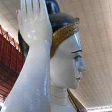 Buddha sdraiato viso