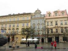 edifici piazza del Mercato Cracovia