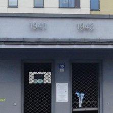 ex posto di controllo nazista nel ghetto