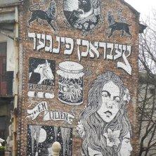 graffiti nel quartiere Kazimierez