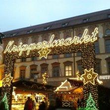 mercatino illuminato