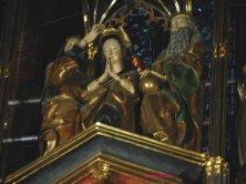 particolare del retablo