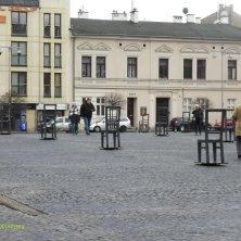 piazza del ghetto Cracovia