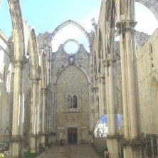 chiesa do Carmo impatto dall'entrata