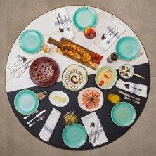 mesa Llisa negra Fotografias Pelut i Pelat