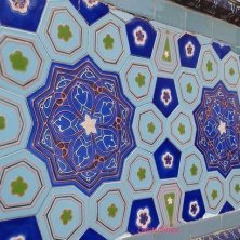 sfumature di blu Samarcanda