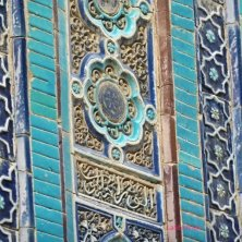 turchese e blu a Samarcanda