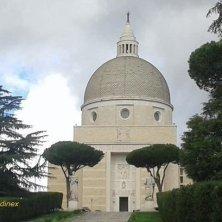 chiesa e scalinata Eur