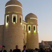 luci della sera su Khiva