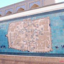 mappa Khiva