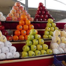 piramidi di frutta