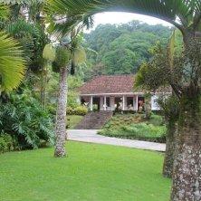 Jardin de Balata con casa creola