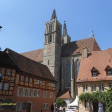 cattedrale a Rothenburg