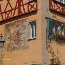palazzo affrescato Rothenburg