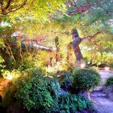 giardino incantato al palazzo di Gyeongju