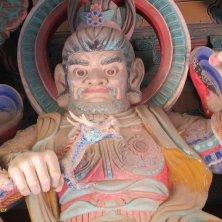 statua di guardiano a Bulguksa