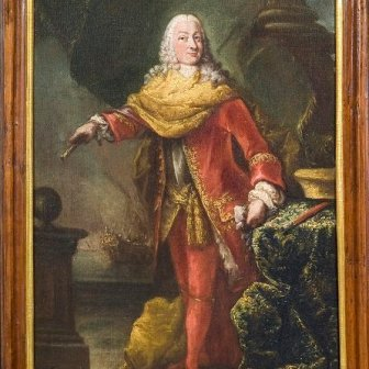 131. LONGHI Alessandro, Ritratto di Antonio Venier, Olio su tela, cm. 51...