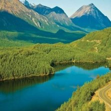 Matanuska Valley Gleen Highway foto Micheal DeYoung