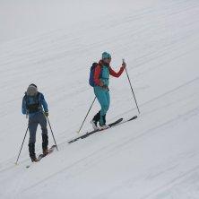 alpinisti in Alaska