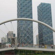 ponte e grattacieli Songdo
