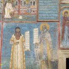 Santi Monastero Voronet Bucovina