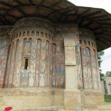 affreschi monastero Voronet Bucovina