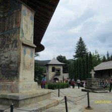 al monastero Voronet Bucovina