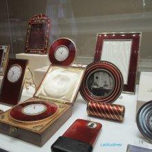 oggetti in smalto rosso Fabergé