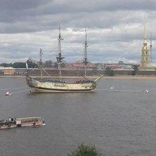panorama dall'Ermitage su San Pietroburgo