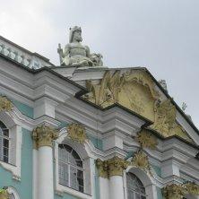 particolare del Palazzo d'Inverno