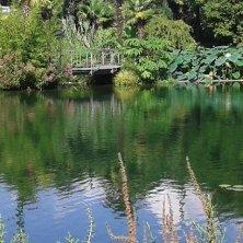 riflessi sul laghetto Giardini di Castel Trauttmansdorff