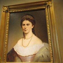 ritratto di Sissi al museo Giardini di Castel Trauttmansdorff