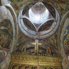 soffitto interno monastero Moldovita Bucovina