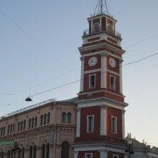 torre orologio Prospettiva Nevskij