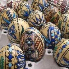 uova dipinte in vendita Moldovita Bucovina