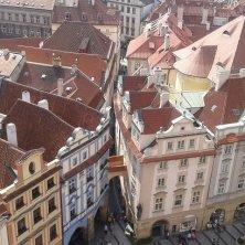 Praga dall'alto torre dell'Orologio