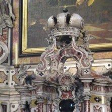 all'interno del duomo di Bressanone